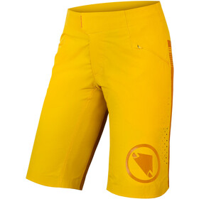 Endura SingleTrack Lite Shorts Dames, saffron